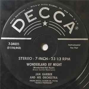 Jan Garber And His Orchestra - Wonderland By Night (Wunderland Bei Nacht)