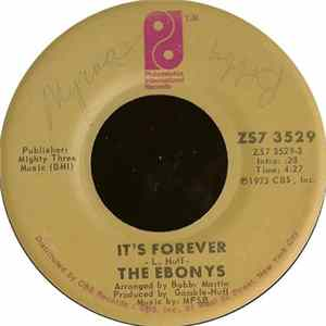The Ebonys - It's Forever
