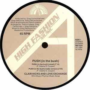 Clair Hicks And Love Exchange - Push (In The Bush)