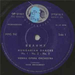 Brahms – Vienna Opera Orchestra Conductor : Hans Swarowsky - Hungarian Dances